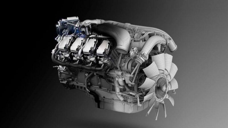 SCANIA V8 MOTOR