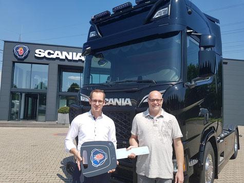 Scania R580 für Krapoth Transporte